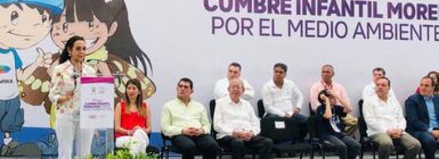 Más de 300 niños y niñas asistieron a la Cumbre Infantil Morelense por el Medio Ambiente