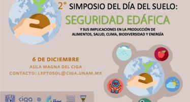 2° Simposio del día del suelo: seguridad edáfica