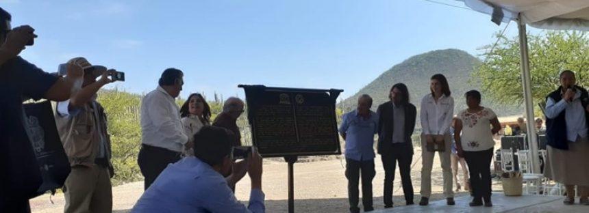 Las comunidades de la Biósfera Tehuacán-Cuicatlán rinde frutos ante la UNESCO