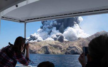 Cinco muertos y sin esperanzas de más supervivientes tras la erupción de un volcán en Nueva Zelanda