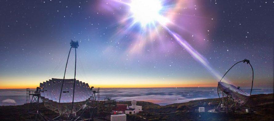 Detectan rayos gamma ultraenergéticos