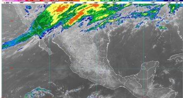 Hoy se pronostican lluvias fuertes en Sonora y Chihuahua