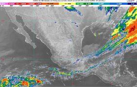 Hoy se prevén intervalos de chubascos en Veracruz, Oaxaca, Chiapas, Tabasco, Campeche, Yucatán y Quintana Roo