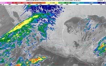 Hoy se pronostican lluvias fuertes para Veracruz y Quintana Roo