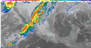 En el noroeste de México prevén lluvias, rachas de viento fuerte, descenso de temperatura y nevadas o aguanieve