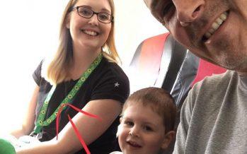 Discapacidades invisibles: ¿Qué significa un cordón verde con un estampado de girasoles?