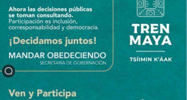 Ejercicio participativo: Tren Maya Tsíinin K'áak