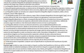 """2° Concurso de fotografía """"Aves de México"""""""