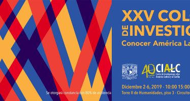 XXV Coloquiro de investigación conocer America Latina y el Caribe