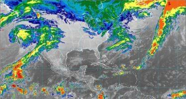 Hoy prevén lluvias fuertes en Baja California y nevadas o aguanieve en la sierra de San Pedro Mártir