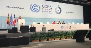 México reafirma su compromiso con la agenda ambiental ante la COP25