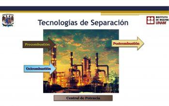 UNAM realiza contribución a la captura de gas efecto invernadero que emite la industria eléctrica