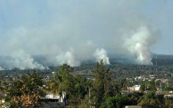 Los incendios forestales son originados por mal manejo de fuego y recursos naturales