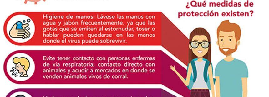 Recomendaciones preventivas contra el coronavirus