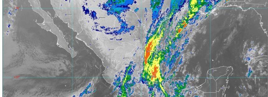 Continuarán las rachas de viento fuerte en regiones del centro y el norte de México