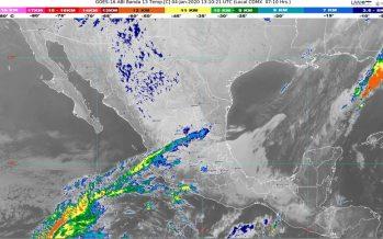 Se pronostican lluvias muy fuertes en Chiapas y fuertes en Oaxaca y Tabasco