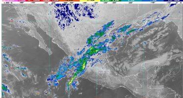 Prevén lluvias fuertes en zonas de Veracruz, Tabasco, Oaxaca y Chiapas