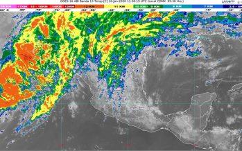 Se prevén lluvias fuertes en Coahuila, el norte de Puebla, el oriente de San Luis Potosí y Veracruz