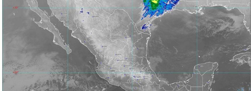 Se pronostican fuertes rachas de viento con posibles tolvaneras en el norte y el noreste de México