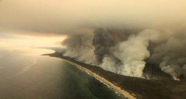 El humo de los incendios de Australia llega a Chile y Argentina