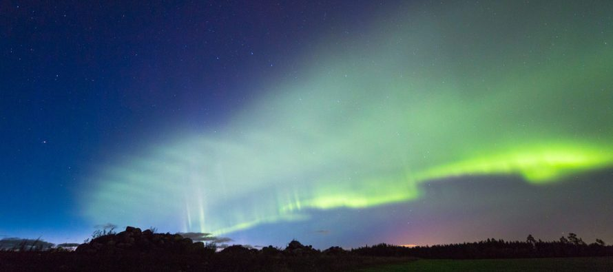 Las brillantes 'dunas' verdes detectadas en Finlandia son en realidad un nuevo tipo de aurora