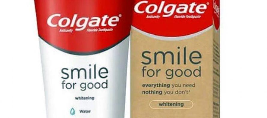 Colgate lanza pasta de dientes certificada vegana en tubo reciclable