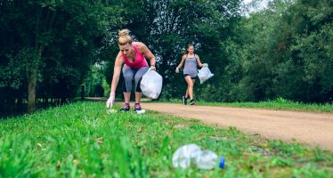 Plogging, deporte ecológico