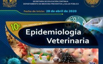 10° Diplomado en línea de Epidemiología Veterinaria