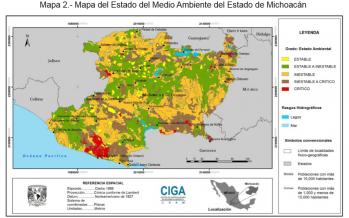 El Estado del Medio Ambiente en Michoacán de Ocampo. México