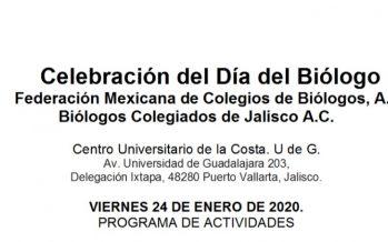 Celebración del día del biólogo