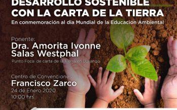 Conferencia: Educación para el desarrollo sostenible con la carta de la tierra