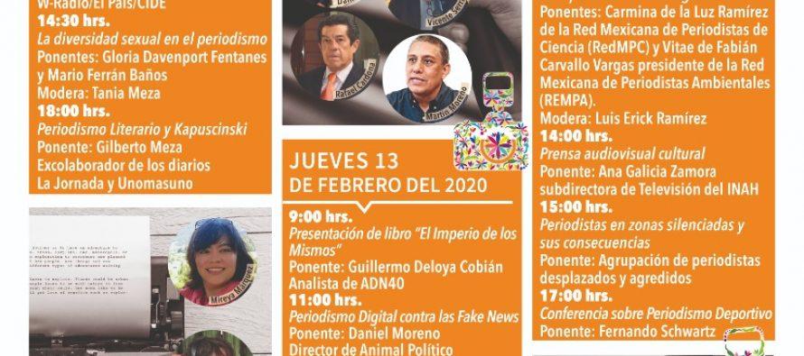 Semana del periodismo Hidalgo 2020
