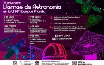 10° Aniversario Viernes de Astronomía