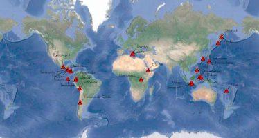 Estos son los volcanes que se encuentran en erupción en el mundo