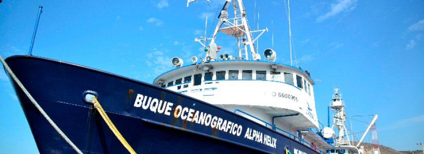 Adquiere Alpha Helix del CICESE una ecosonda multihaz para mapear el fondo marino en alta resolución