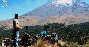 El Popocatépetl es vigilado con nuevas y sofisticadas tecnologías: UNAM