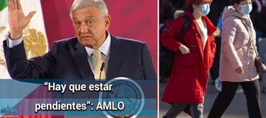 Identificados, dos probables casos de coronavirus en México: AMLO