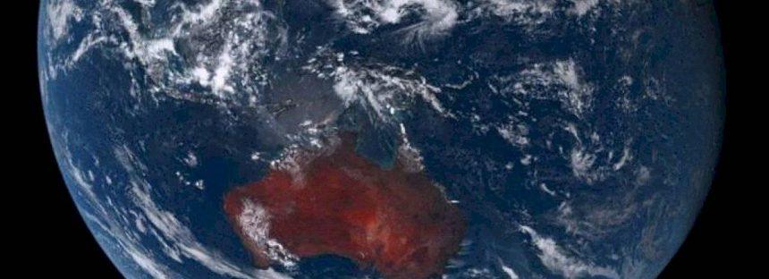 Incendios en Australia se ven desde el espacio