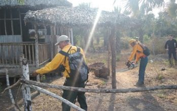 Recuperan 911 hectáreas invadidas en la Reserva de la Biósfera La Encrucijada, Chiapas
