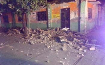 Sismo de 6.0 grados en Oaxaca deja algunas afectaciones