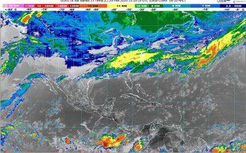 Frente Frío 40 provocará lluvias intensas en el norte de Puebla y Veracruz, y viento del norte en Tamaulipas