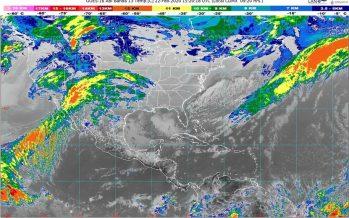 Frete frío 41: Desciende la temperatura, con viento fuerte en península de Baja California y región Noroeste de México