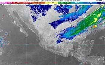 ¡Cuidado con el viento del norte! Costa centro y sur de Veracruz, e Istmo de Tehuantepec, abatido por con rachas de 100 a 120 km/h