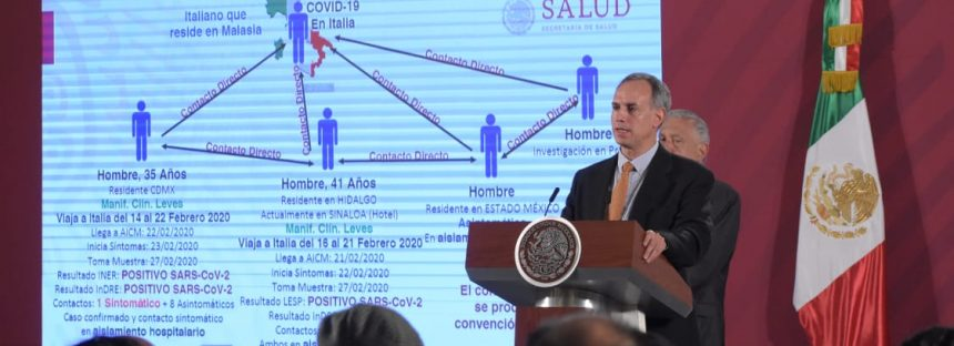 Confirmado y en aislamiento primer caso de coronavirus COVID-19 en México; en Sinaloa podría haber otro