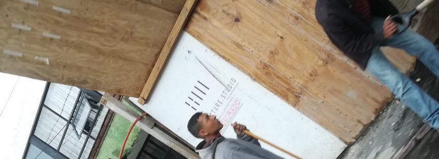Aún con sellos de clausura, se construye un edificio en zona de riesgo por fallas geológicas en Morelia