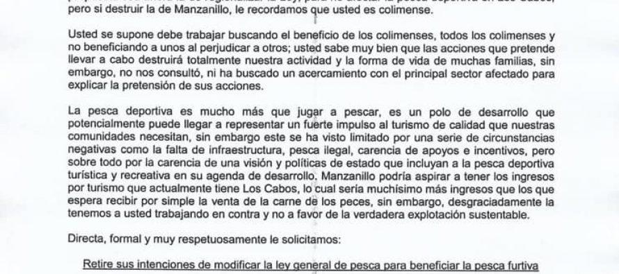 Comité de Pesca Deportiva Turística y Recreativa del estado de Colima exige retirar iniciativa contra el dorado (Coryphaena hippurus)