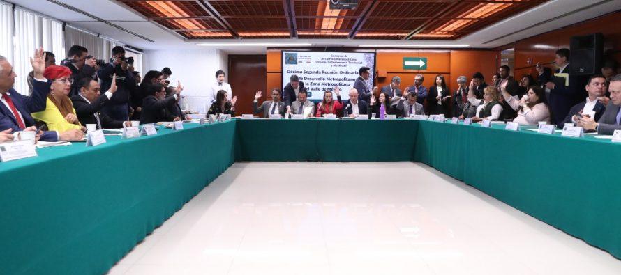 Aprueban la Ley de Desarrollo Metropolitano para la Zona del Valle de México, en comisión