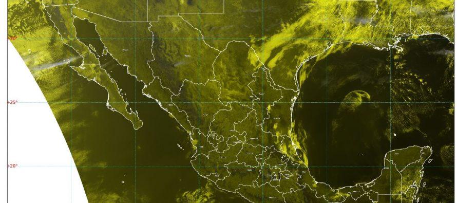 ¡Vientos! Rachas de 60 km/h en Nuevo León y Tamaulipas; 40 °C en zonas de Chiapas, Guerrero, Jalisco, Michoacán, Morelos, Nayarit y Puebla