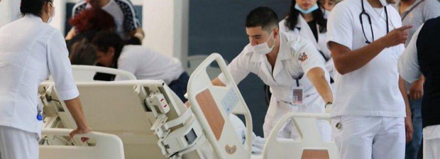 La UNAM reconoce a las y los médicos y enfermeras como el primer frente contra la pandemia de Covid-19