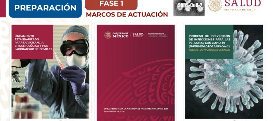 México en fase uno por COVID-19; no es necesario restringir viajes, cerrar fronteras ni puertos marítimos